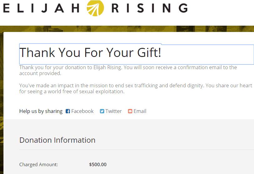 Texas Flange Pays It Forward - Thank You Elijah Rising