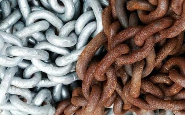Rust Steel Chain Galvanization