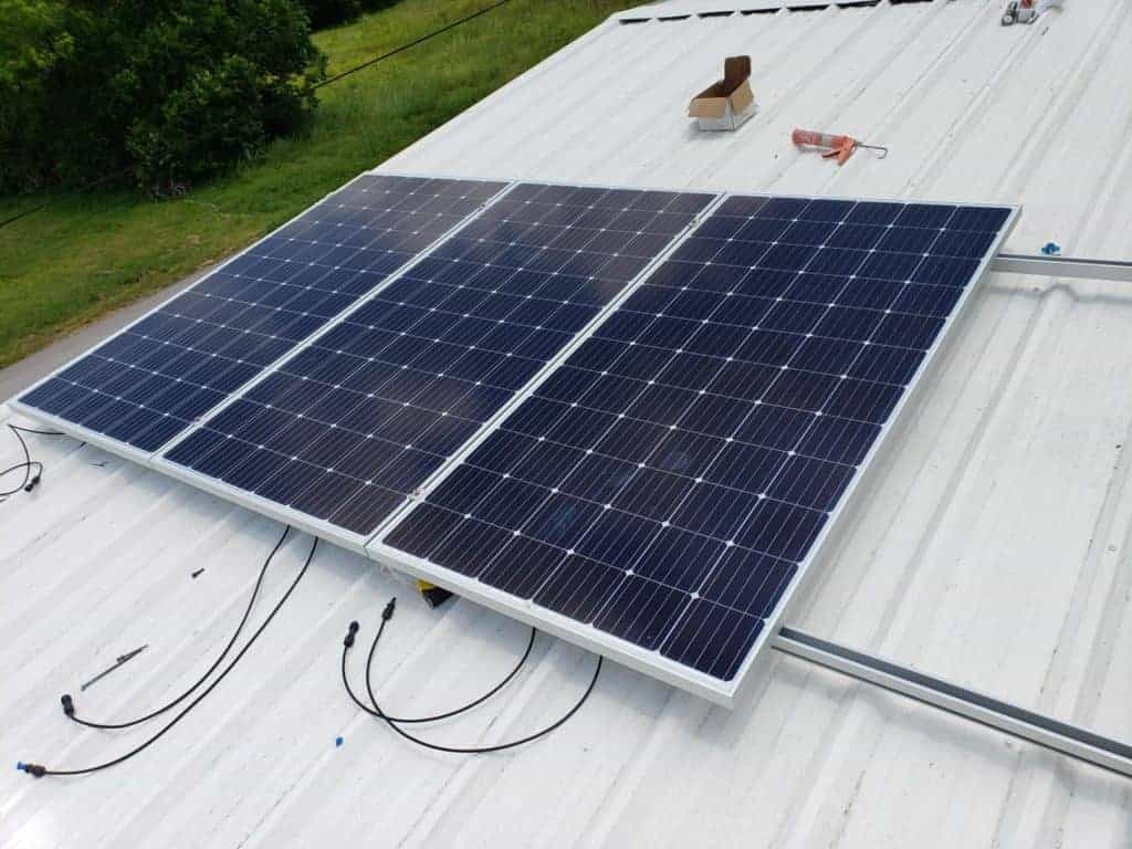 Solar Power Panel Mounting