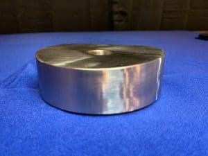 Custom outlet flange in duplex 2205
